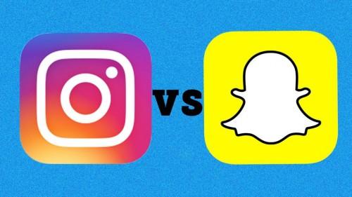 Instagram stories vs Snapchat instagram stories vs snapchat Instagram stories vs Snapchat ¿Qué ofrecen cada una? snapchat vs Instagram e1472488930141